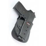 Fobus Evolution Series Paddle Holster For Sig 239 .357/.40 in Black Right Hand