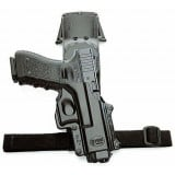 """Fobus Roto Tactical Rubberized Thigh Rig - 2 1/4"""" Belt"""