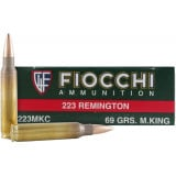 Fiocchi Exacta Match Centerfire Rifle Ammunition .223 Rem 77 gr HPBT 2660 fps - 20/box