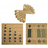 "Blackhawk! 9"" S.T.R.I.K.E. Speed Clips 6-Pack - Coyote Tan"