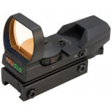 Truglo Open Red Dot Sight - 24x34mm Illum. Dual Color Reticle Black