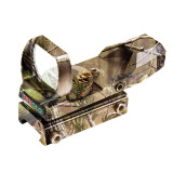 Truglo Dual Color Open Red-Dot Sight - 24x34mm 5 MOA Reticle APG Camo