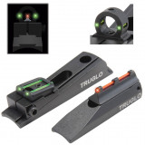 Truglo Muzzleloader-Brite Universal Sight Set Interchangeable Rear Ghost Ring & Notched Rear Sight