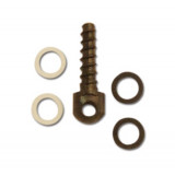 "GrovTec Small Parts - 1 Machine Screw Swivel Stud and Nut - 7/8"", Spacers"