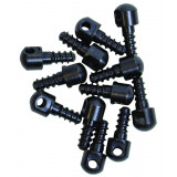 "GrovTec Bulk Parts - 1/2"" Wood Screw Swivel Studs - 12 Pack"