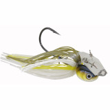 Z-Man Project Z Chatterbait Lure Jig Bladed 3/8 oz - Blueback Herring Silver Blade