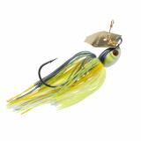 Z-Man Project Z Chatterbait Lure Jig Bladed 3/8 oz - Chart Sexy Shad Gold Blade
