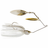 Z-Man SlingbladeZ Spinnerbait Double Willow Spinner Lure 1/2 oz - W/W Clearwater Shad