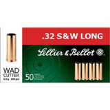 Sellier & Bellot Pistol & Revolver Ammo .32 S&W Long 100 gr WC 50/box