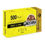 "Accura Premium Powerbond Bullets 9mm .355"" 124 gr FP 500/ct"