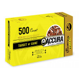 "Accura Premium Powerbond Bullets .38 cal .357"" 158 gr FP 500/ct"
