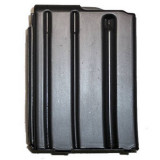 A.S.C. AR Family Rifle Magazines with Black Follower - .223 Remington, Black Stainless Steel, 10 rds.