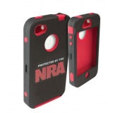 Allen NRA iPhone 5/5S Cell Phone Case - Black/Red