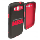 Allen NRA Galaxy S3 Cell Phone Case - Black/Red