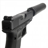 XS Sight Systems 24/7 Standard Dot Tritium Express Set  Suppressor Hgt for Glock models 17/19/22-24/26/27/31-36/38