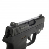 XS Sight Systems Standard Dot Tritium Express Set (Front, White Stripe Rear, Fitted Rear) - S&W Bodyguard .380