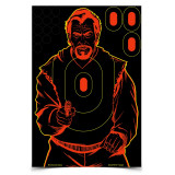 "Birchwood Casey Shoot-N-C Bad Guy Target - 12-12""x18"" Targets 180 Pasters"