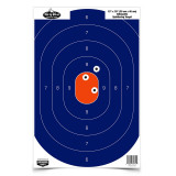 "Birchwood Casey Dirty Bird Silhouette Target - 12""x18"" Blue/Orange 50 Pack"