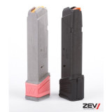 ZEV Technologies +5 Capacity Basepad Extension for Magpul GL9 PMAG17 Glock Magazine – Black