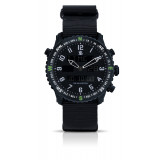 Smith & Bradley Ambush Watch - Black Nato with PVD Rubber Strap
