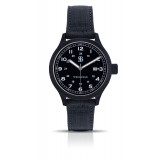 Smith & Bradley Springfield PVD Watch - Black Cordura Strap