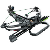 "Barnett Quad Edge Crossbow with 4x32 Scope and 7/8"" Picatinny Rail - Black"