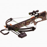 Barnett Quad 400 Crossbow Package With Premium Red Dot Sight - Next Camo