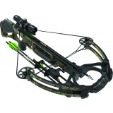 Barnett Ghost 375 Crossbow Package with 4x32 Push Button Illuminated Scope - Realtree Max-1