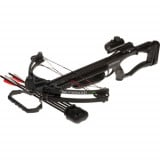 Barnett Brotherhood M4 Compound Crossbow Package with Red Dot Scope - Black