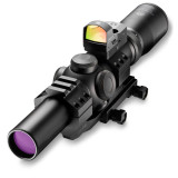 Burris Fullfield TAC30 Tactical Rifle Scope w/FastFire & Mount - 1-4x24mm Ballistic CQ Reticle Matte