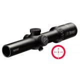 BLEMISHED Burris MTAC Rifle Scope - 1-4x24mm Ballistic CQ Matte