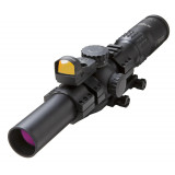 Burris XTR II Rifle Scope  Combo - 1.5-8x28mm Illum. XTR II Ballistic 5.56 G3 Reticle Matte