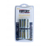 Covert 12Pk AA NiMH Rechargeable Battery