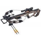 Crosman Tormentor Whisper 380 All Weather Composite Stock Compound Crossbow w 4x32m Scope