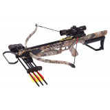 Crosman Tyro Recurve Crossbow with 4x32mm Scope - God's Country Camo