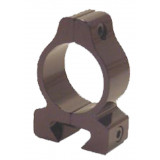 """Custom Quality Products 22 Solid Dovetail Riflescope Rings 1"""", Black"""