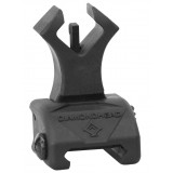 Diamondhead Polymer Diamond Flip Up Front Sight with NiteBrite - Matte