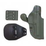 GCode Combo Retention Holster for Beretta 92FS Belt Paddle Right Hand Foliage Green