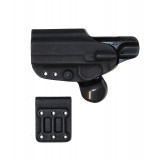 Gcode Combo Holster for 1911 Belt Loop Left Hand Black