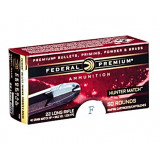 Federal Hunter Match Rimfire Ammunition .22 LR 40 gr HP 50/ct