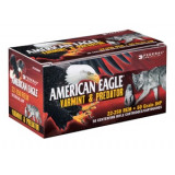 Federal American Eagle Varmint & Predator Rifle Ammunition 22-250 Rem. 50 gr JHP 3850 fps 50/ct