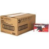 American Eagle Handgun Ammunition 9mm Luger 115 gr FMJ 1180 fps 1000/ct