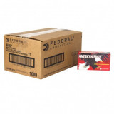 American Eagle Handgun Ammunition 9mm 115 gr FMJ 1180 fps 1000/ct