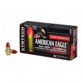 Federal American Eagle Syntech Handgun Ammuntion 9mm Luger 115 gr TSJ 1130 fps 200/ct