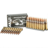 Federal American Eagle Tactical Stripped Rifle Ammunition 5.56mm Nato M193 55 gr FMJ 30/Box
