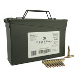 Federal NATO 5.56 Rifle Ammunition NATO 55 gr FMJ 420/Box