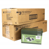 Federal Lake City XM855 Green Tip Ammunition 5.56mm NATO 62 gr FMJ Green Tip 3020 fps 1200/ct