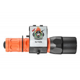 SureFire G2X Fire Rescue Pro Dual Output LED Flashlight w/Helmet Mount - 50/320 Lumens 21.5/2.75 Hours