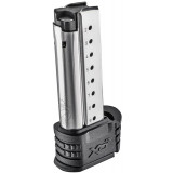 Springfield Armory XD(S) Magazine w Black X-Tension 9mm 9/rd Stainless