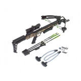 Carbon Express X-FORCE Blade Crossbow Package with 4x32mm Scope & Rope Cocker - Camo